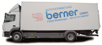 Mercedes Atego 1224 Koffer mit Ladebordwand
